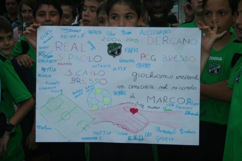 Il Nostro Cartellone per Marco