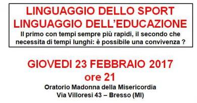 """Serata a tema: """"Linguaggio Dello Sport"""" con ospiti d'eccezione!"""